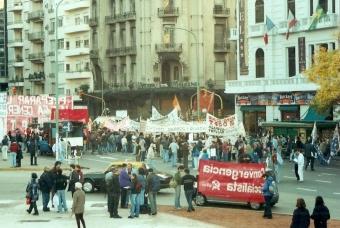 Congreso protestaI 2002