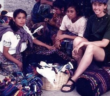 Rebecca y Chicas en Antigua