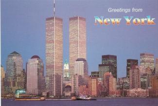 greetings NYC towers