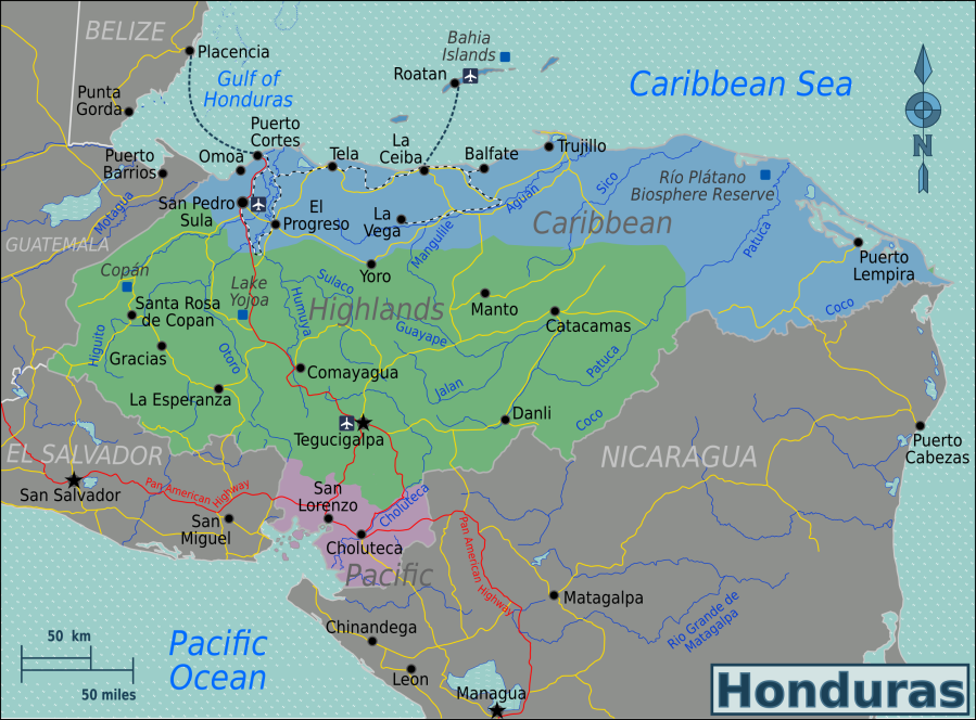 https://commons.wikimedia.org/wiki/File:Honduras_Regions_map.png