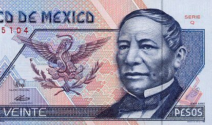 Billete_20_Mexico_Tipo_D_Anverso