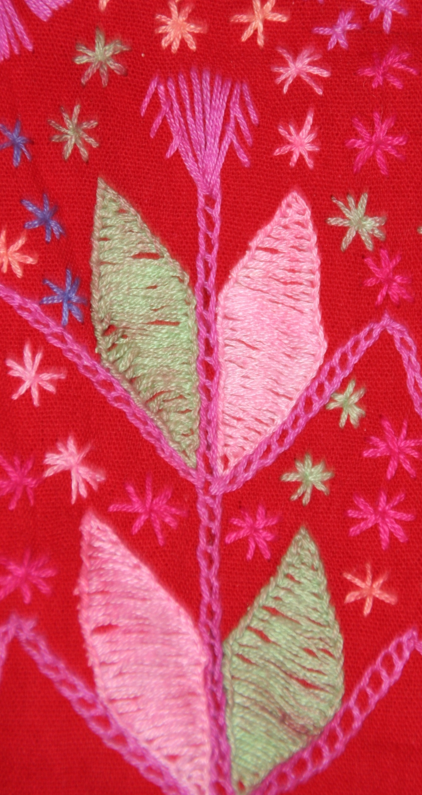 Corn Symbol from an Embroidered Shirt