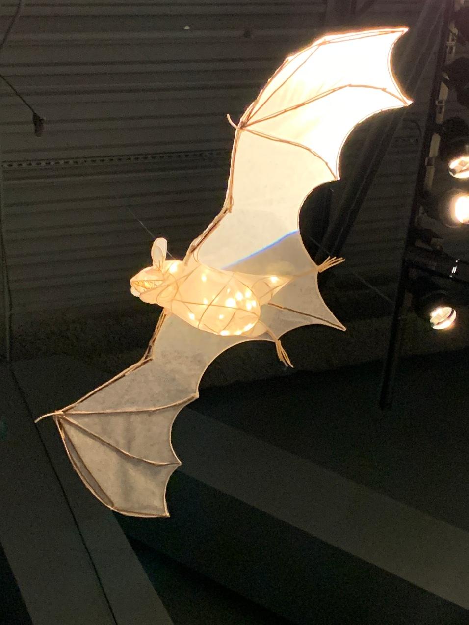 Lit Bat Lamp