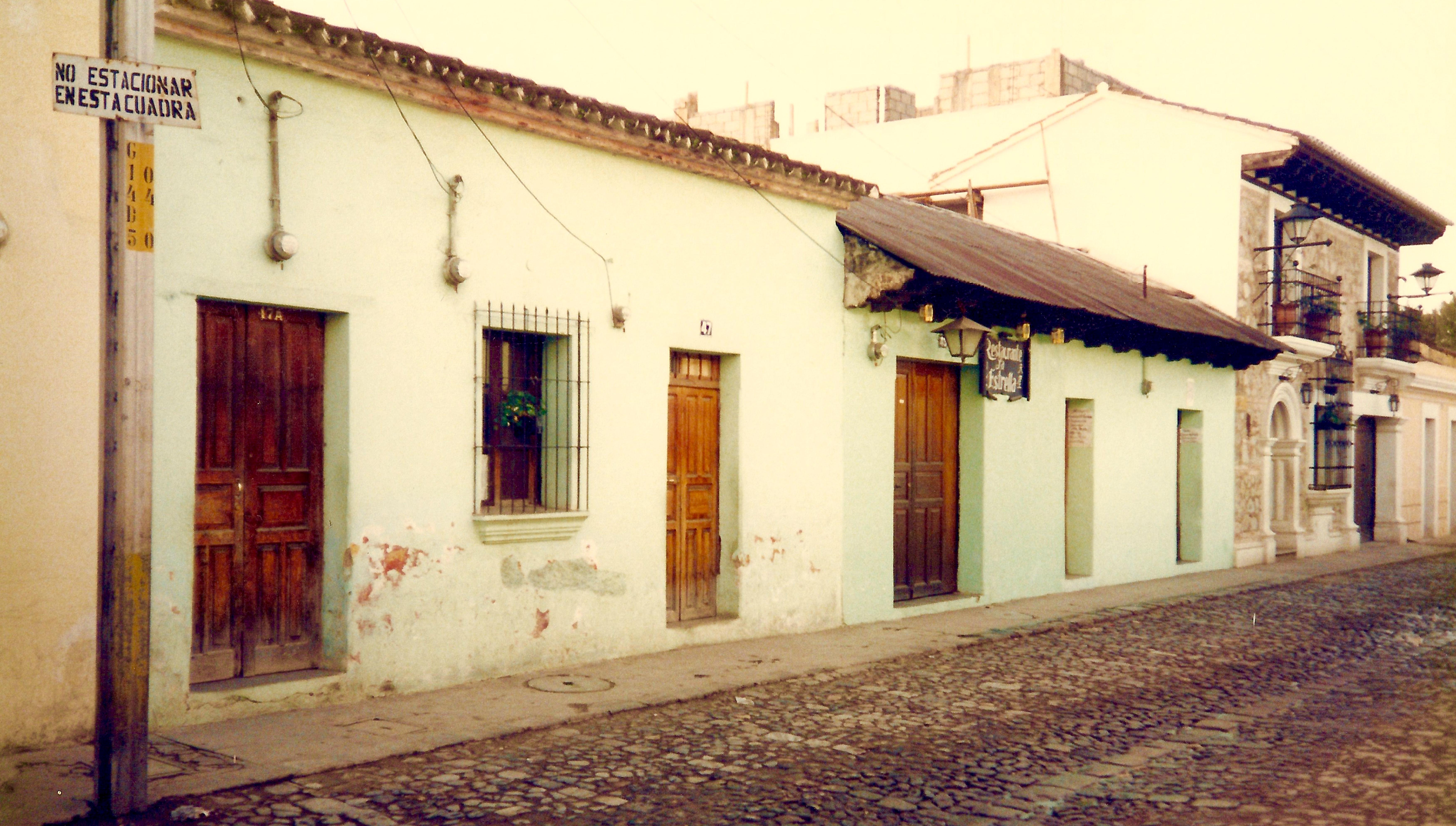 residential street antigua